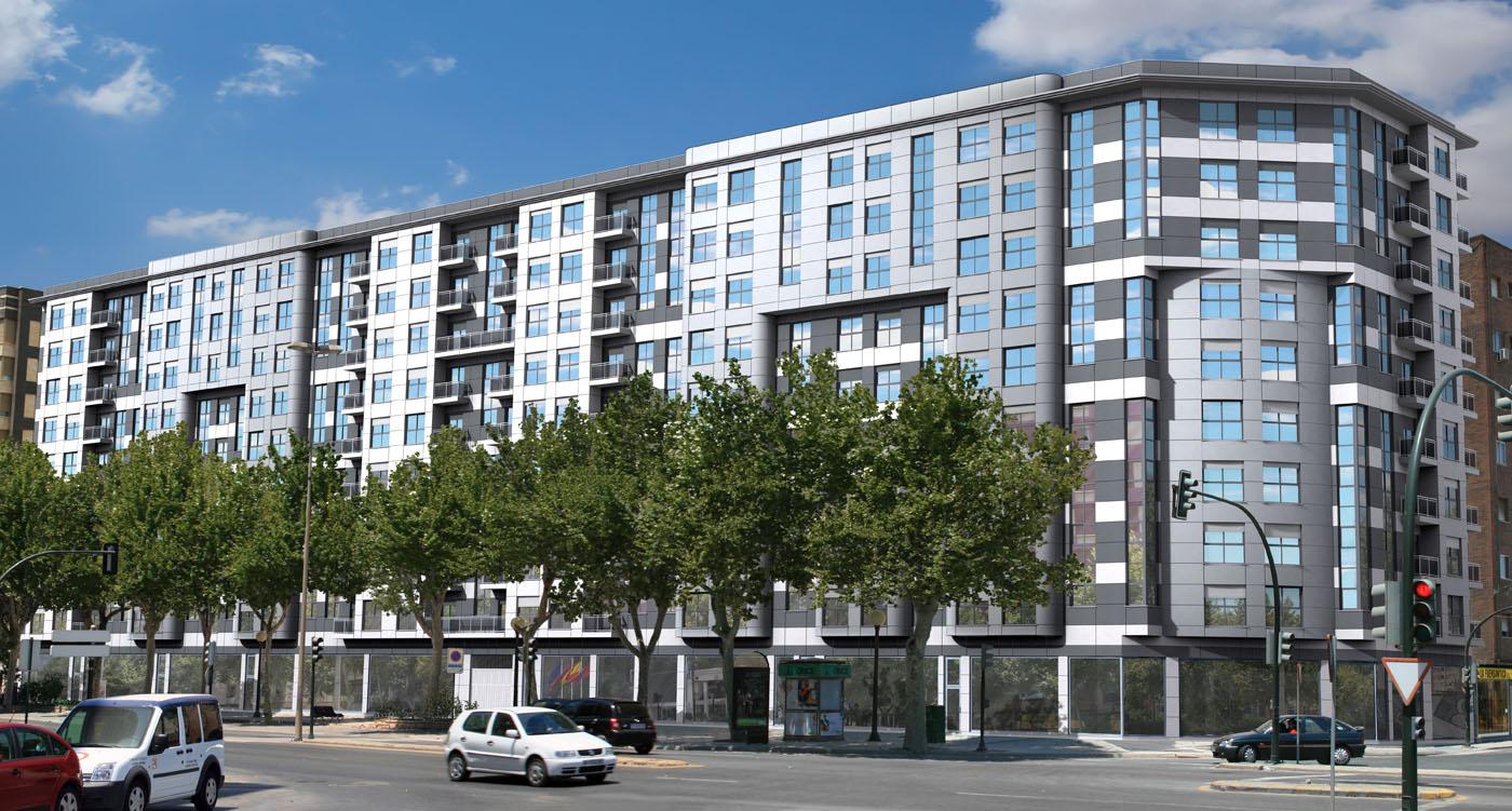 72 viviendas en bloque garages y locales fase ii - Arquitectura cartagena ...