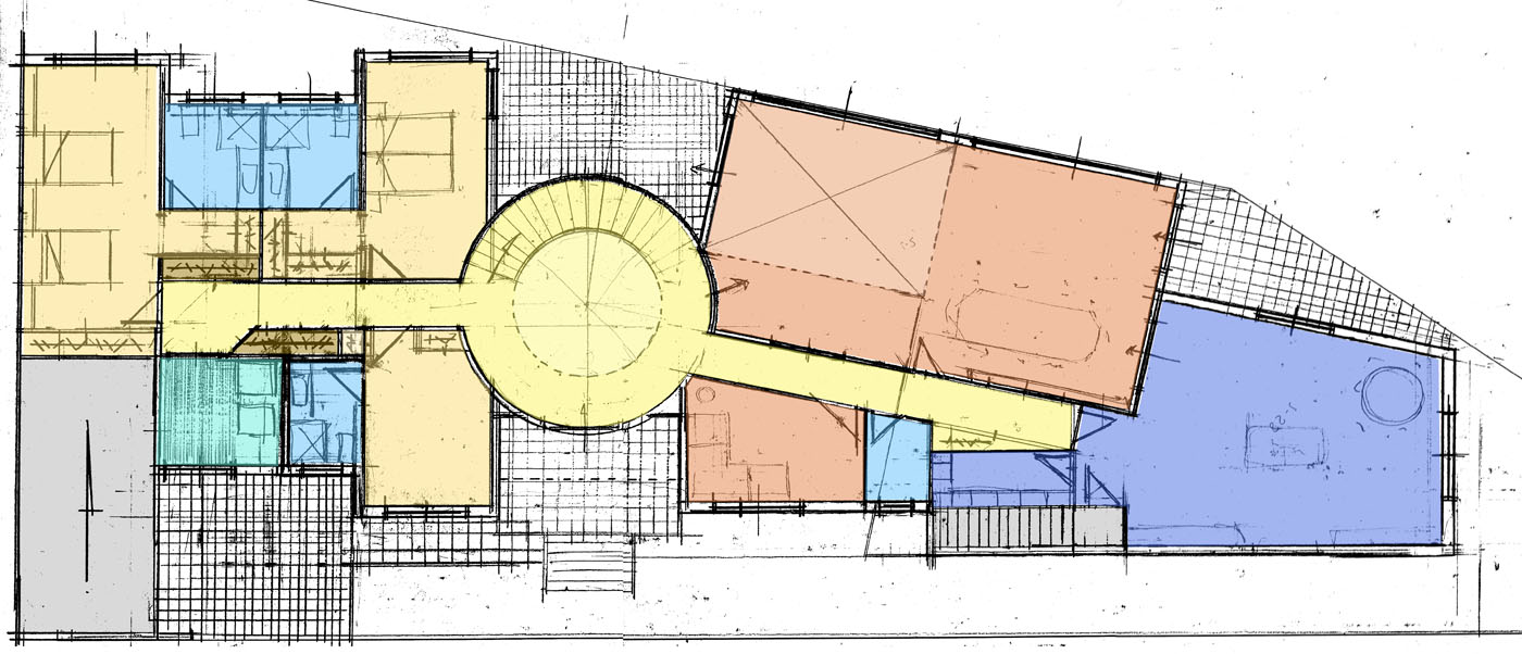 Vivienda unifamiliar y garaje proyectos lumarquitec - Arquitectura cartagena ...