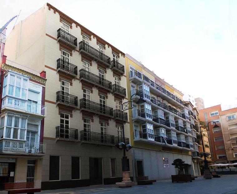 Rehabilitacion de edificio proyectos lumarquitec for Estudio arquitectura murcia